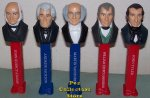 LOOSE USA Presidential Pez Series Volume 2 Set - 1825 to 1845