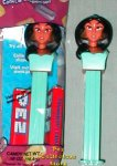Princess Jasmine Pez from Aladdin MIP