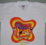 Psychedelic Eye Pez Flower Flavored T-Shirt size Youth 14-16