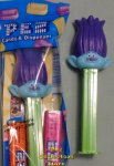 Purple Hair Branch Troll Pez MIB