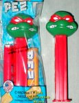 Raphael Revised TMNT Pez MIB
