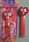 Happy Red Crystal Heart Valentine's Day 2019 Pez