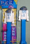 Red Dot Silver Shoulder version R2D2 Star Wars Pez MIB