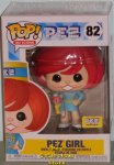 Pop! Ad Icon - PEZ EXCLUSIVE - PEZ Girl (Redhead)