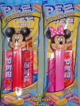 2020 Revised Mickey and Minnie Pez MIB