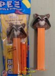Rocket Raccoon from Marvel Guardians of the Galaxy Pez MIB