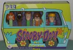 Scooby Doo Velma Fred Daphne and Shaggy Pez in Mystery Machine B