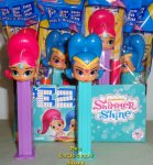 Shimmer and Shine Pez MIB