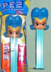 Shine the Blue Hair Genie Pez MIB