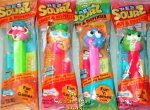 Sourz Pez Set of 4 Mint in Original Bags