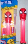 Spiderman Large Head Pez Red Stem MIP