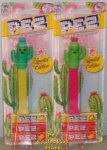 Cactus Pez Pair Mint on Card