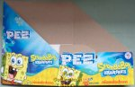 2020 SpongeBob Pez Counter Display 12 count Box