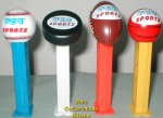 Pez Sportz Set - Football Baseball Basketball Hockey!