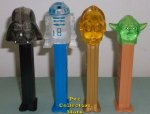 2015 Crystal Star Wars Pez Ltd. Ed. Collectors Set LOOSE