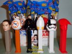 Set of 6 Star Wars Ep. 8 Pez with Guard, Executioner, Porg MIB