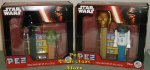 Star Wars Twin Pack New Darth, Mini Yoda and C3PO, Mini R2D2 Pez