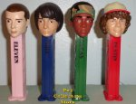 Netflix Stranger Things Pez Mike/Eleven, Lucas/Dustin Loose