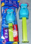 Sulley from Monsters, Inc. Best of Disney Pixar Pez Series MIB