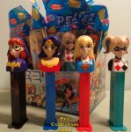 DC Super Hero Girls Pez Set of 4 MIB