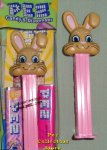 2018 Tan Floppy Ear Bunny Easter Pez MIB
