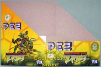 Teenage Mutant Ninja Turtles Pez Counter Display Box