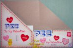 2021 To My Valentine Pez Valentine's Day Counter Display Box