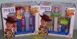 Toy Story 4 Twin Pack Pair Woody - Peep, Buzz - mini Alien Pez