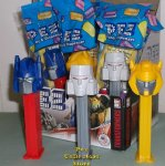 Transformers Optimus, Bumblebee and Megatron Pez Set MIB