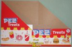 2021 Pez Treats Pez Counter Display 12 count Box