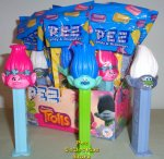 Trolls Pez Set Poppy, Branch and Guy Diamond MIB