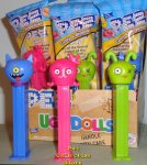 UglyDolls Moxy, Ox and Ugly Dog Pez MIB