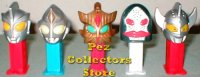 Set 008 Ultraman 2 Mini Pez Dispenser set of 5