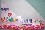 Valentines Pez Counter Display 12 count Box