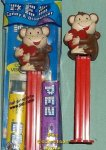 Valentines Day Pez Monkey with Heart MIB