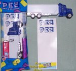 Blank Pez Rigs Truck with Stickers to Decorate MIB