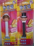 Pez Bride and Groom on Exclusive Visitor Center Cards