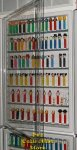 Hinged Cover Door for Customizable Pez Wall Display