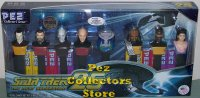 Star Trek TNG with Locutus Pez Walmart Exclusive Ltd Ed Set