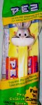Bugs Bunny B on Yellow WB Looney Tunes Pez MIB