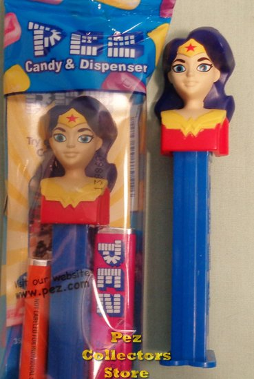 Wonder Woman Girl DC Super Hero Girls Pez MIB - Click Image to Close