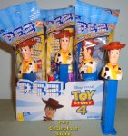 Woody Pez Set of 10 Toy Story 4 Party Favor Pack