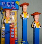 Woody Toy Story Pez No Spot Variation MIB
