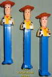Toy Story 4 Revised Wide Eye Woody Pez Loose