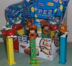 World of Cars Pez Dusty, El Chupacabra Planes, Race Flag Mater M