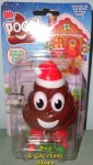 Oh Poop! Santa Hat Poop Emoji Wind-up Walking Pooper