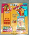 Yellow Electronic Pez Telephone With Phone Registry