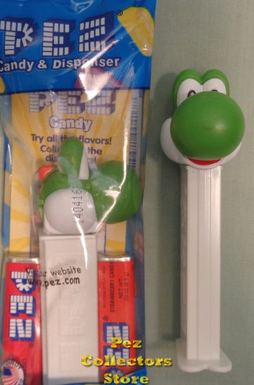 Yoshi Pez from Super Mario Nintendo Mint in Bag - Click Image to Close