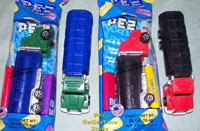 Rigs and Trucks Pez