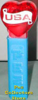 USA Hearts Pez